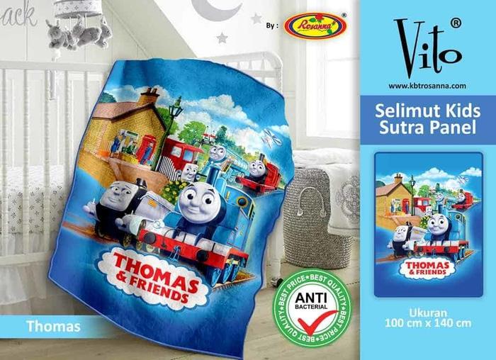 SELIMUT VITO KIDS - Grosir Selimut Vito Kids Thomas