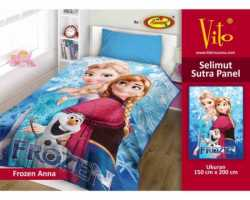 Grosir Selimut Vito Sutra Panel - Grosir Selimut Vito Sutra Motif Frozen Anna