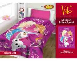 Grosir Selimut Vito Sutra Panel - Grosir Selimut Vito Sutra Motif Frozen Olaf