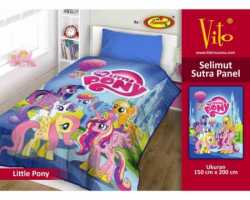 Grosir Selimut Vito Sutra Panel - Grosir Selimut Vito Sutra Motif Little Pony