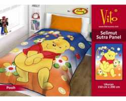 Grosir Selimut Vito Sutra Panel - Grosir Selimut Vito Sutra Motif Pooh