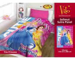 Grosir Selimut Vito Sutra Panel - Grosir Selimut Vito Sutra Motif Trio Princess