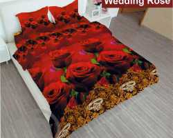Grosir Sprei LADY ROSE - Grosir Sprei Lady Rose Wedding Rose