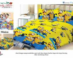 Grosir Sprei LADY ROSE - Grosir Sprei Lady Rose Minion